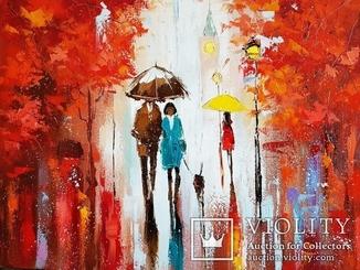 """""""Осень в Лондоне"""" - Лисогор Д.Г."""