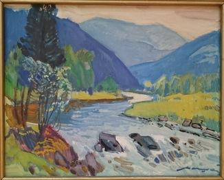 Кашшай «Пейзаж з річкою»