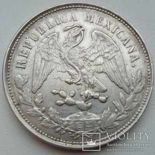 1 песо 1901 года Мексика