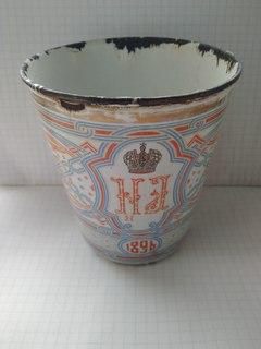 Коронационный стакан. Николай 1896год