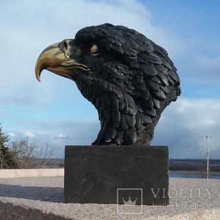 Белоголовый Орлан. Национальный символ  США  Bronze Garanti Paris.