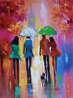 """""""Лондон в дожде"""" - Лисогор Д.Г."""
