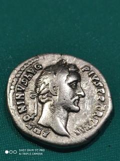 Динарий Антонин Пий 11 июля 138г - 7 марта 161г (1)