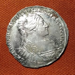 Полтина 1734