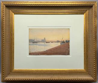 А. Бенуа (1852-1936) экспертиза Третьяковской галереи
