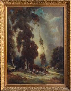 Алексей Подчерников (1886 Владимир —1933 Лос-Анжнжес) масло 1926г