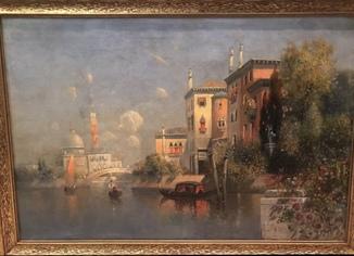 Картина Karl Eugen FELEX(1837-1906) Австрия(Австриец)