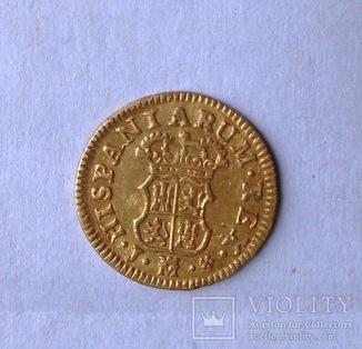 Пол эскудо 1759 Испания Фердинанд VI