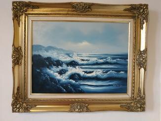 Море/50*60/Подпись автора/Европа