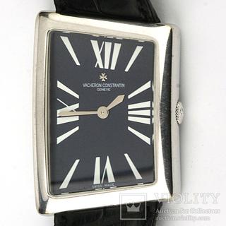 Часы наручные механические Vasheron Constantin MCMLXXII белое золото 750, полный комплект