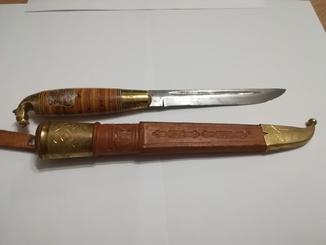 Финский нож пуукко