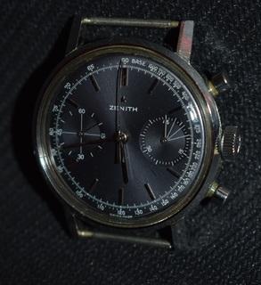 Zenith A271 Cal.46 Chronograph хронограф 60-е года мужские