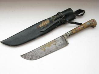 Узбекский Нож ЧУСТ
