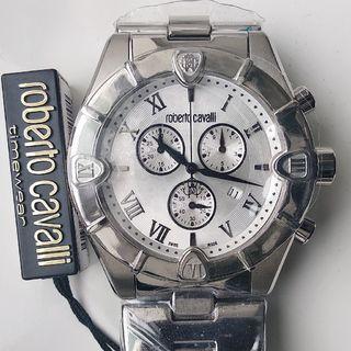 Швейцарский хронограф Roberto Cavalli R7253616015, новый