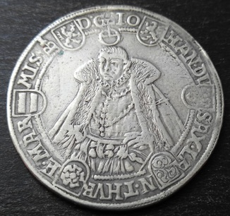 1 Талер 1583 год Саксония-Саксен Веймар