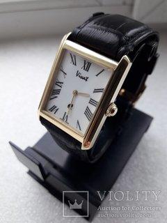 Швейцарские мужские механические золотые часы