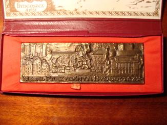 Медаль президента Польша