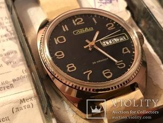 Новые часы Слава AU Полный комплект