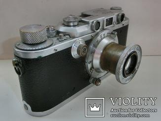 Фотоаппарат Leica №286971 + Elmar №427335