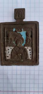 Икона:Святитель Николай Чудотворец 18 век. в связи с невыкупом