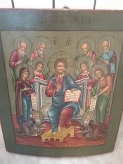 Икона Спаситель на престоле (Спас на троне)