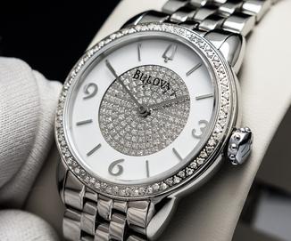 Bulova часы Женские с бриллиантами