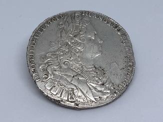 1 рубль Петр 2. 1727 года
