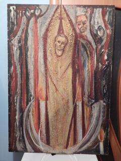 Застиглий смолоскип , художник Б.Готь