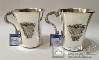 Серебряная чашка (2шт)