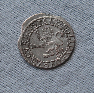 Герцогство Курляндия, солид 1607 года ( лот 1 ).