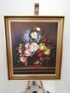 Картина з квітами, Європа
