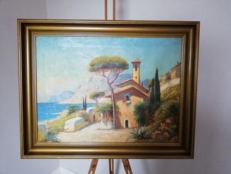 """Картина """"Узбережжя Італії"""""""