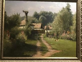 «На хуторе» Журка Ю.