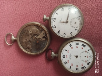 Лот карманных часов (смотрим фото в комментариях)