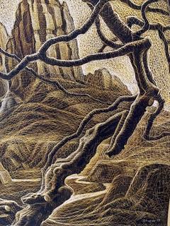 Граттаж (Симфония гор) 1999год, И. И. Жупан