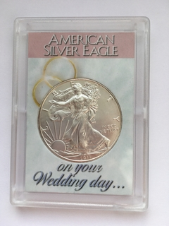 Монета 1 доллар США 2011г. (Серебро, 1 унция)