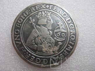 Гульден Талер 60 Крейцерів 156Z Фердинанд 1521-1564