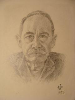 Портрет или автопортрет Мужчина Подпись ДС