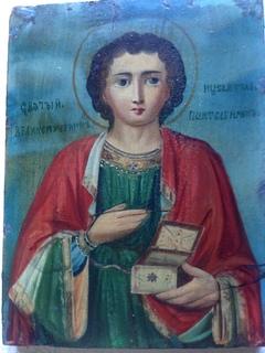 Икона Святого целителя Пантелеймона