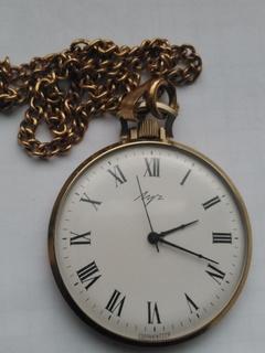 Часы Луч, тонкие Ау5
