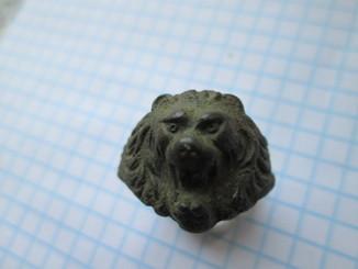 Перстень голова лева