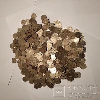 Монеты СССР 1,2,3,5,10,15,20 1961-1991 рр. Большой лот