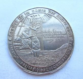 Христильний Талер 1701 р.