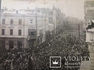 Харків, вул.Сумська 1-е травня 1918 рік.