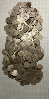 Монети Сигизмунда 609 шт.