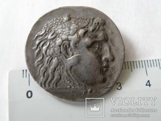 Посмертная тетрадрахма Александра Македонского г. Месембрия