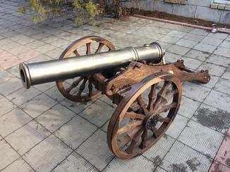 Русская походная пушка копия