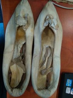 Старинные женский туфли