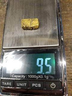 Золото ЧК 9.5 гр.