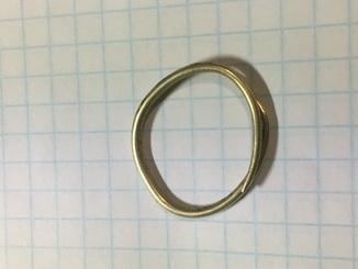 Золотое скифское кольцо(2.31)